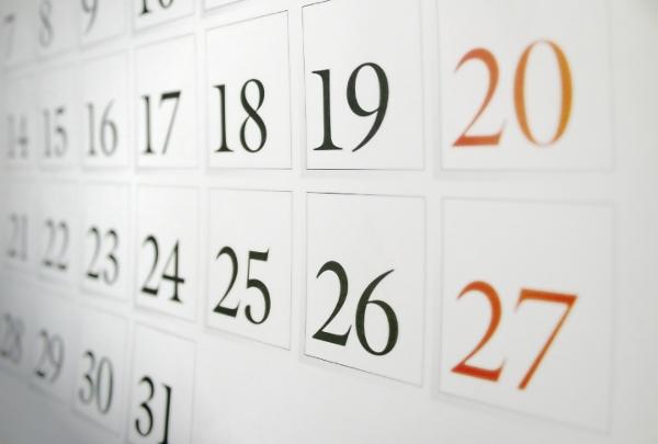calendario corsi